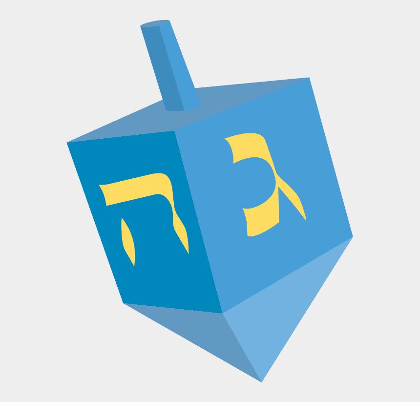 Hanukkah Dreidel clipart free