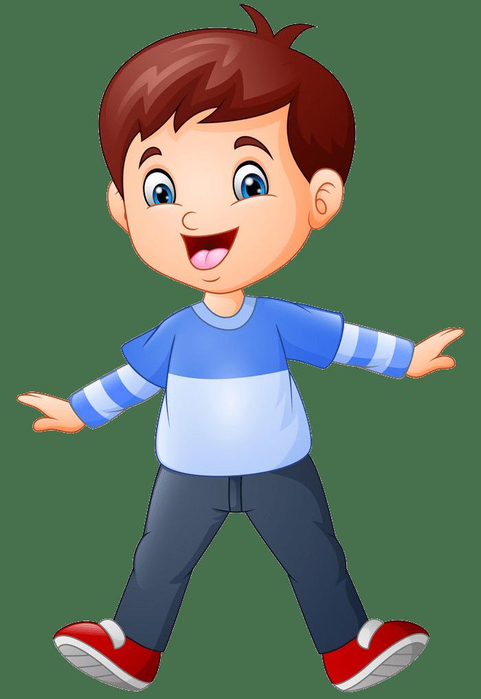 Happy Boy clipart transparent