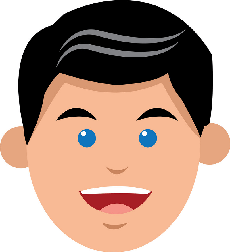 Happy Face clipart 7