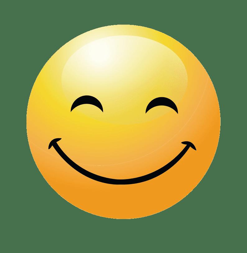 Happy Face clipart transparent 1