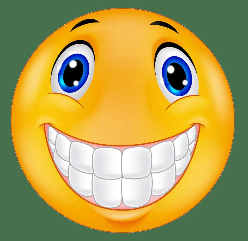 Happy Face clipart transparent 2