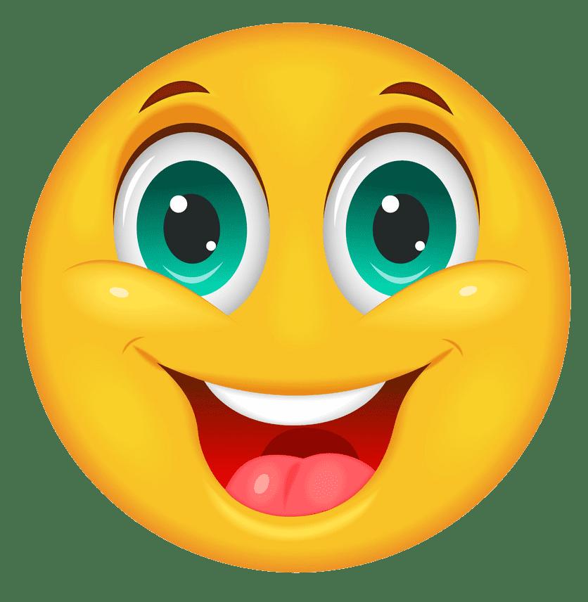 Happy Face clipart transparent 4