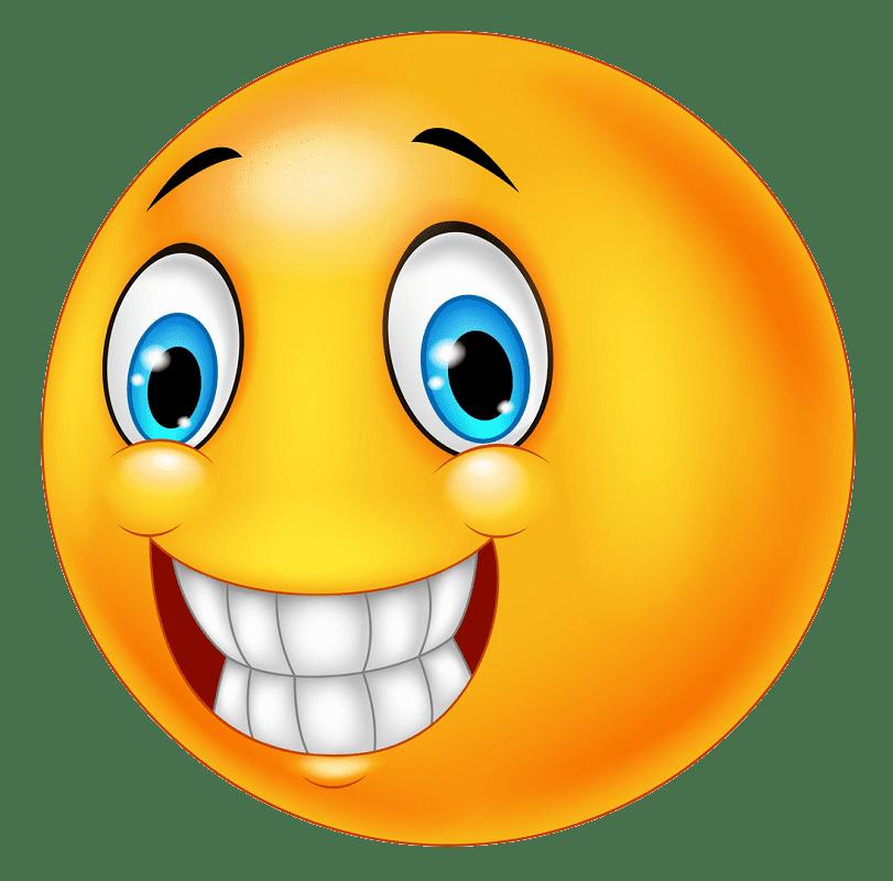 Happy Face clipart transparent 5