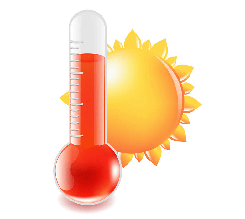 Hot Thermometer clipart 4