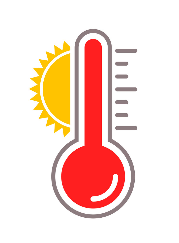 Hot Thermometer clipart png