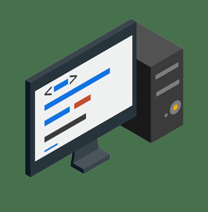 Icon Computer clipart transparent 1