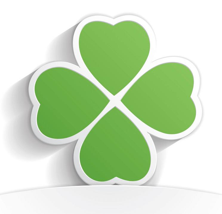 Icon Four Leaf Clover clipart