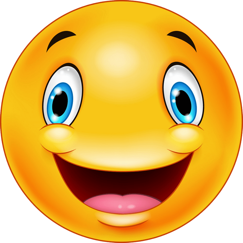 Icon Happy Face clipart transparent 1
