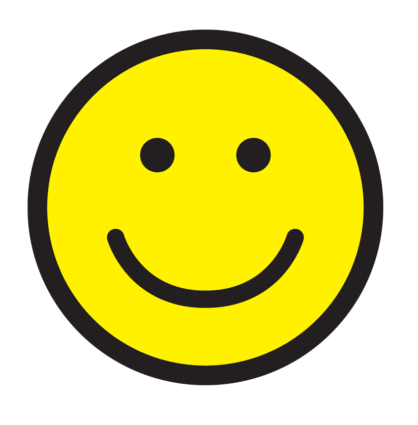 Icon Happy Face clipart transparent
