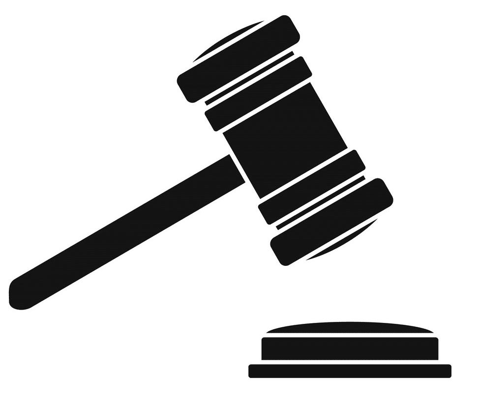 Icon Judge Gavel clipart 1