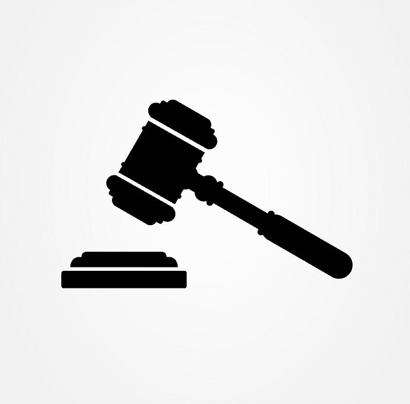 Icon Judge Gavel clipart 2