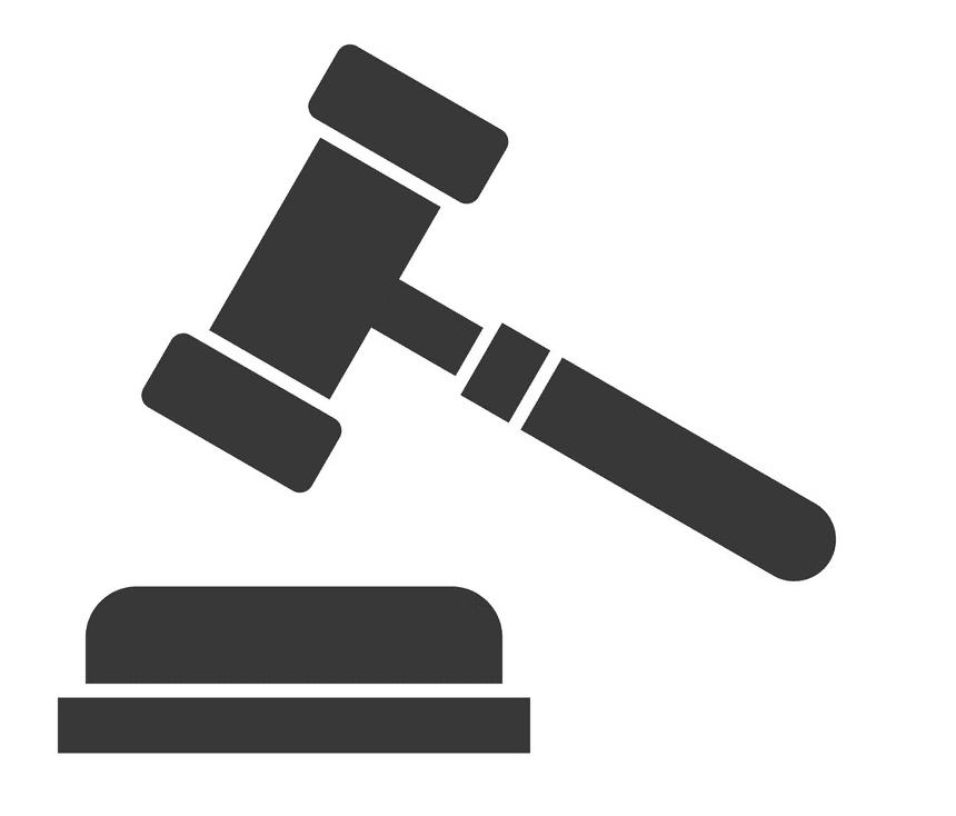 Icon Judge Gavel clipart 3