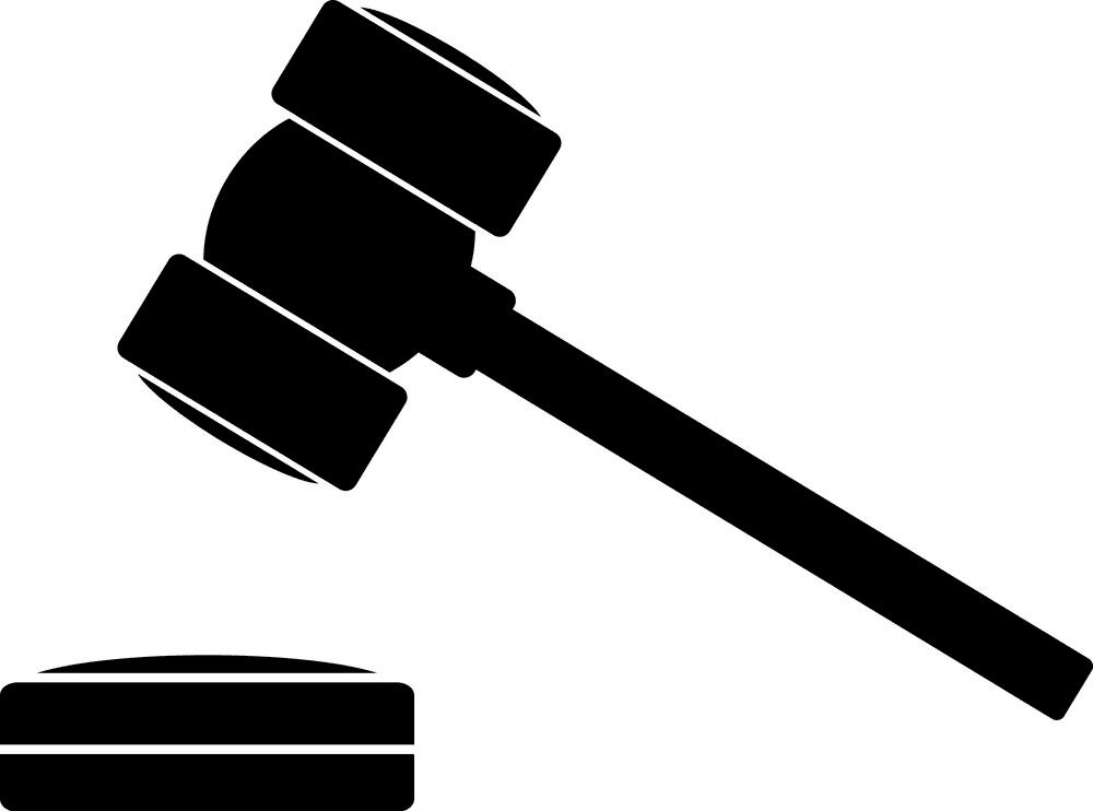 Icon Judge Gavel clipart