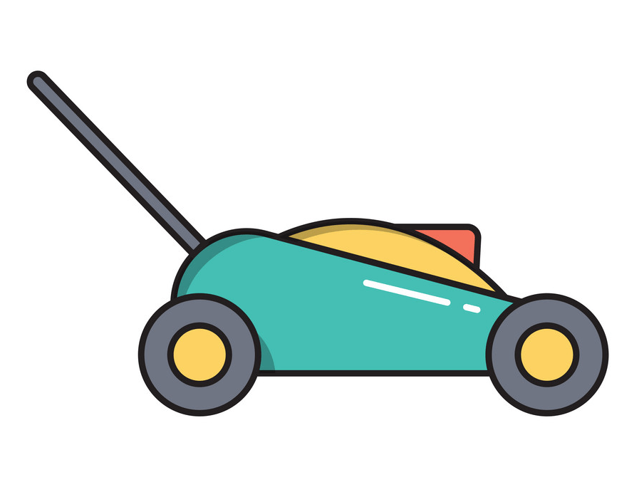 Icon Lawn Mower clipart png