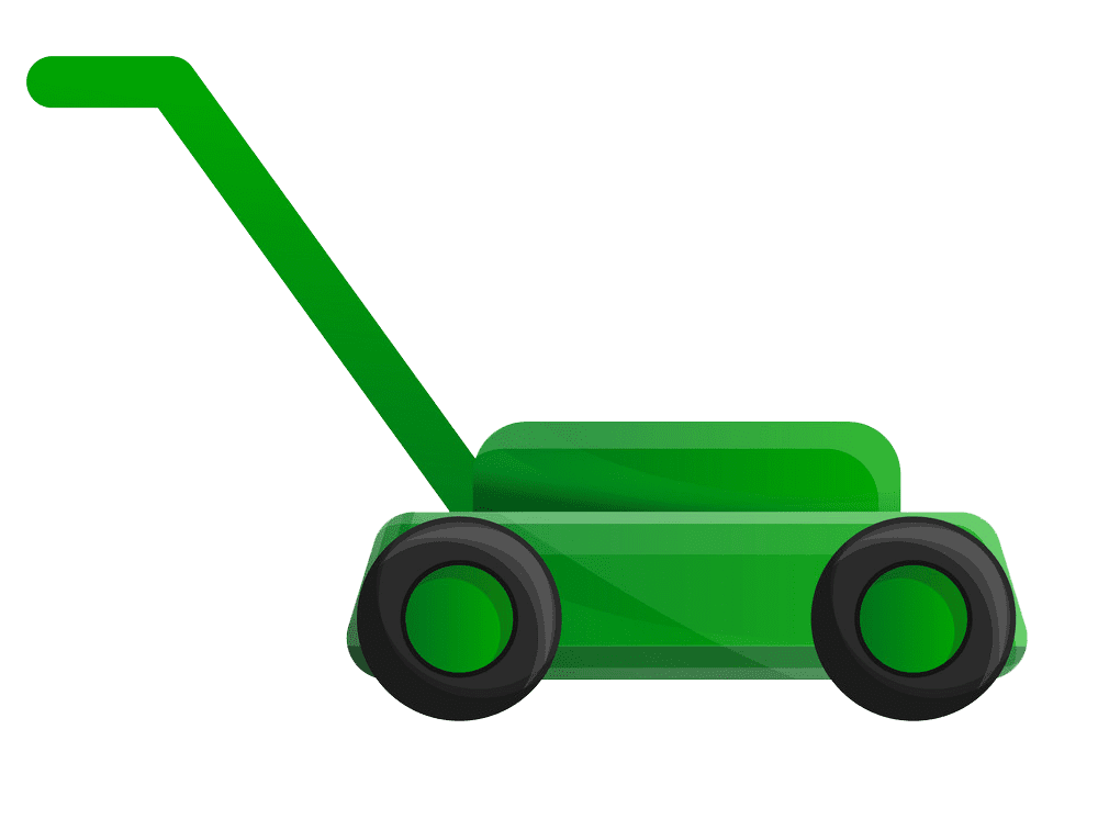 Icon Lawn Mower clipart transparent