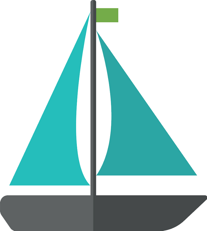 Icon Sailboat clipart transparent