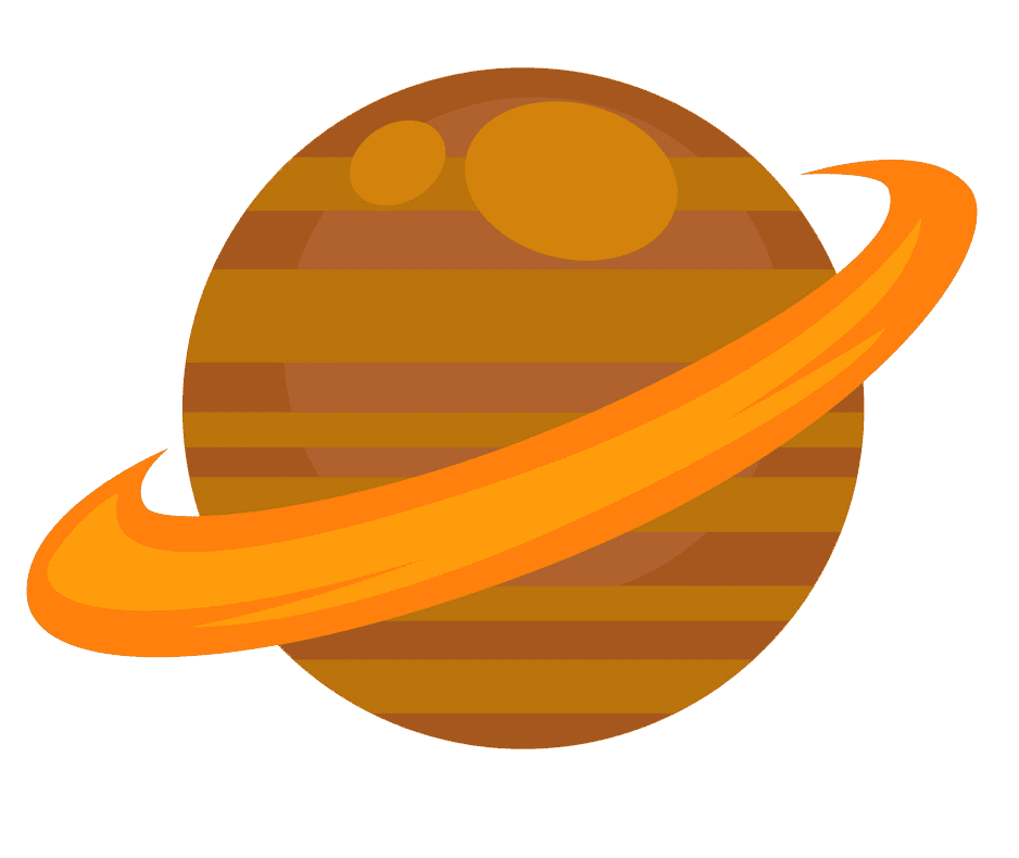 Icon Saturn clipart transparent