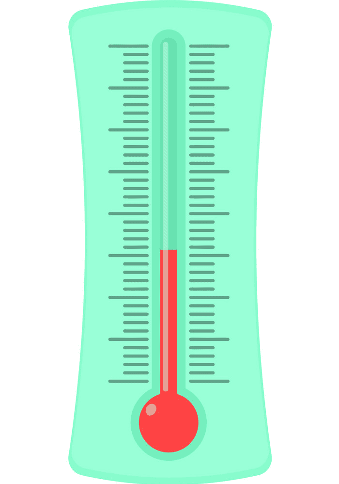 Icon Weather Thermometer clipart