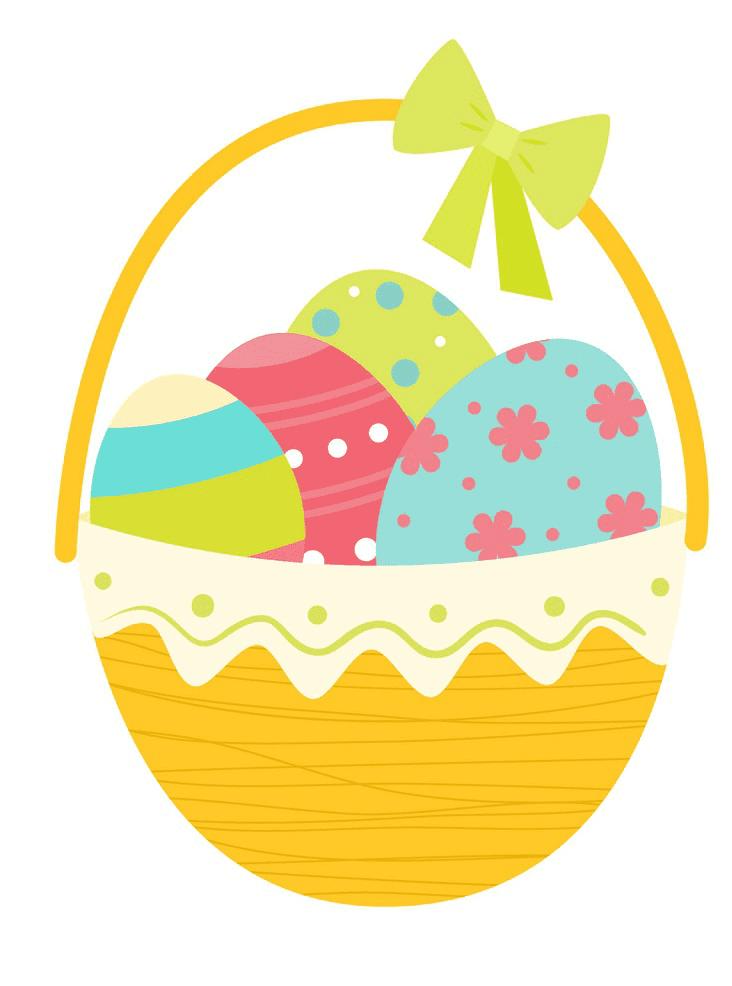 Image Easter Basket clipart