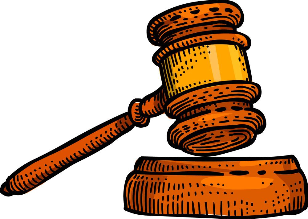 Judge Gavel clipart 2