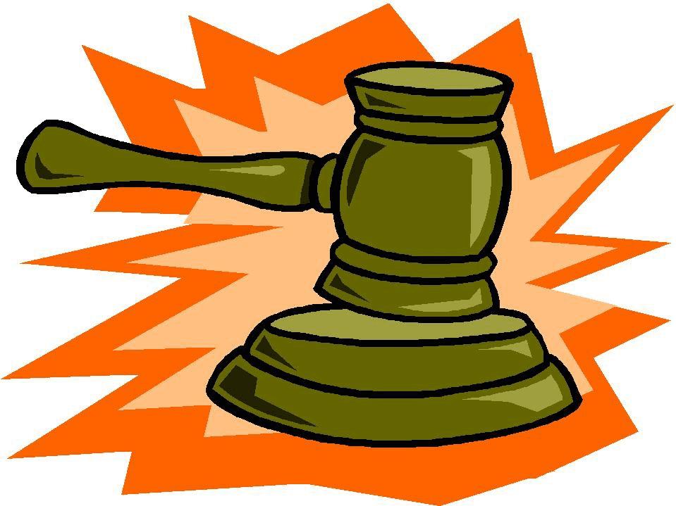 Judge Gavel clipart 4
