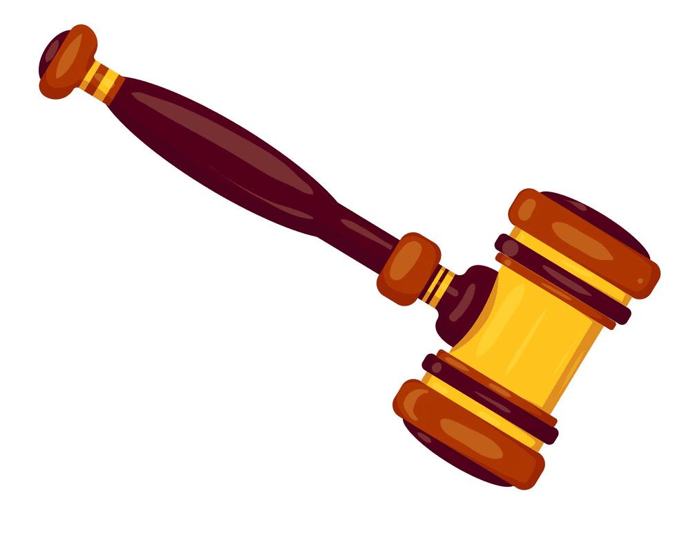 Judge Gavel clipart free