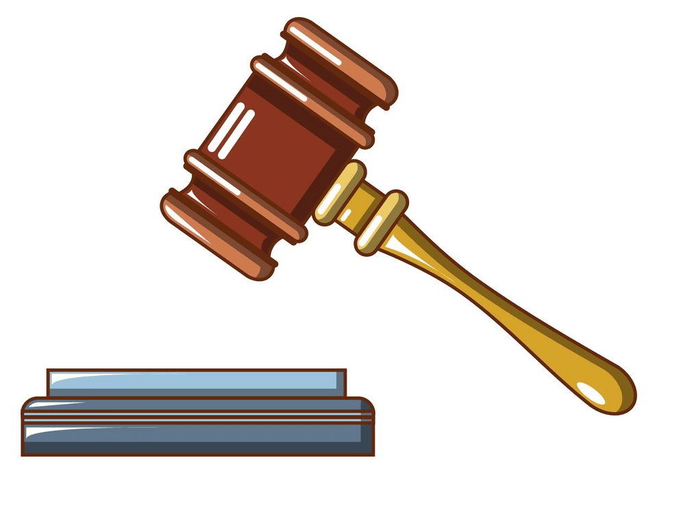 Judge Gavel clipart png
