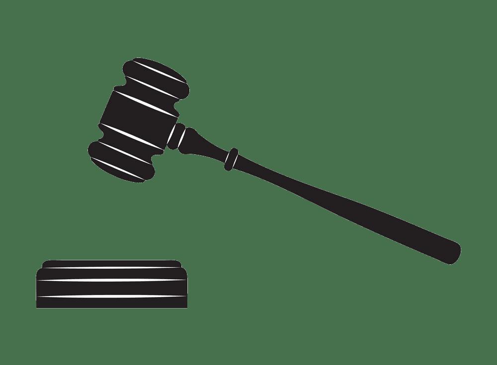 Judge Gavel clipart transparent
