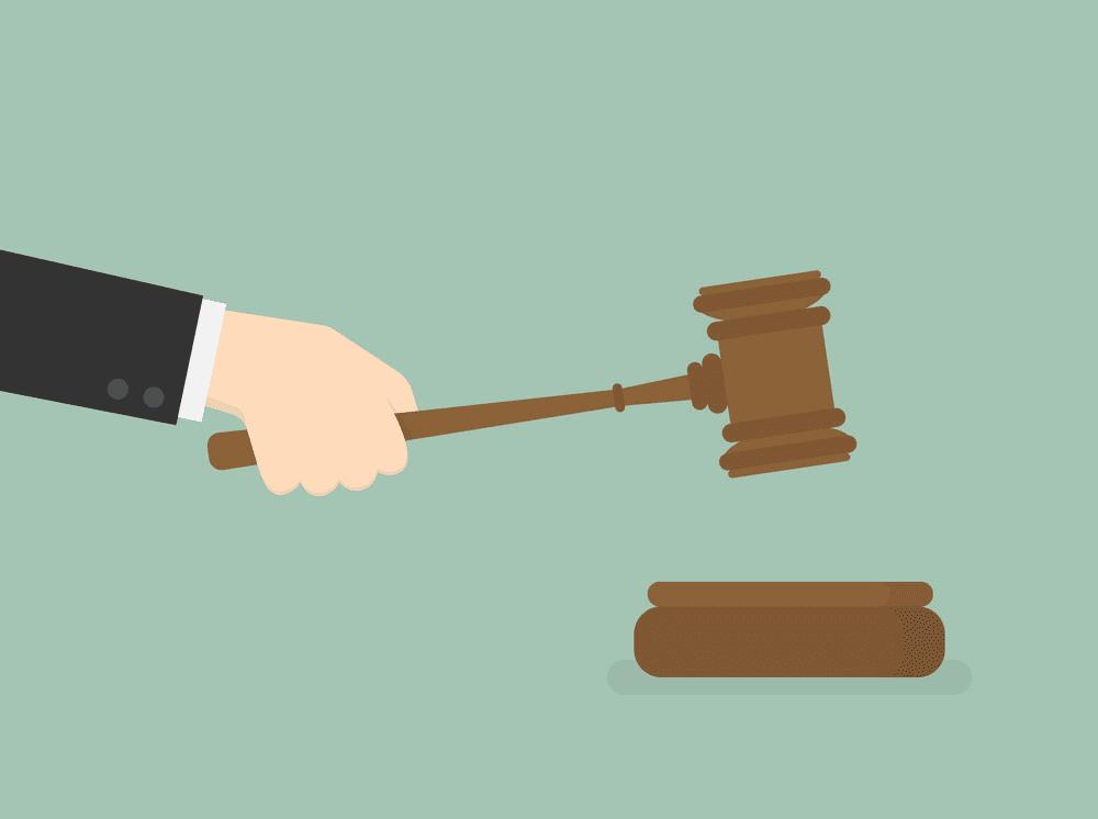 Judge Gavel clipart
