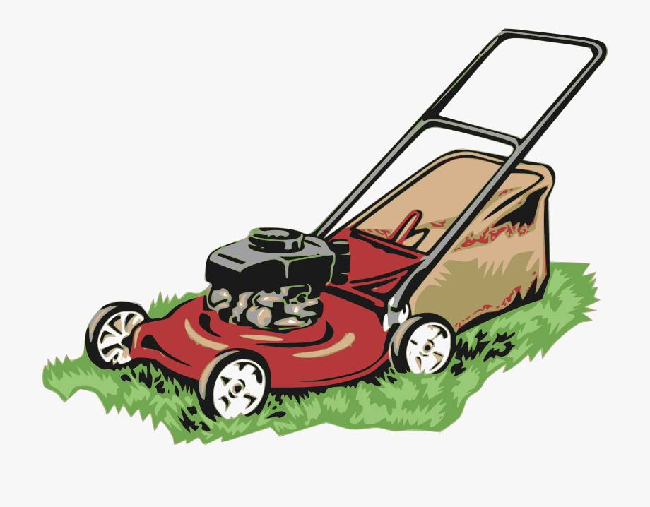 Lawn Mower clipart png