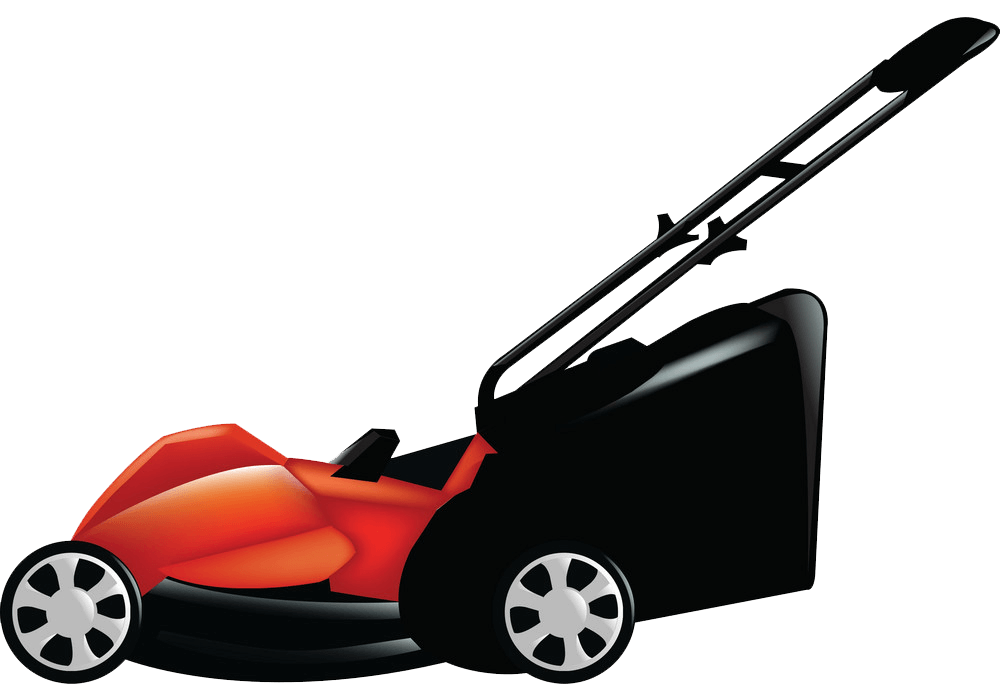 Lawn Mower clipart transparent back ground