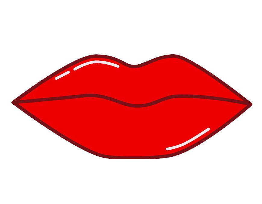 Lips clipart 4
