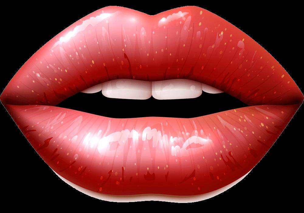 Lips clipart transparent 1