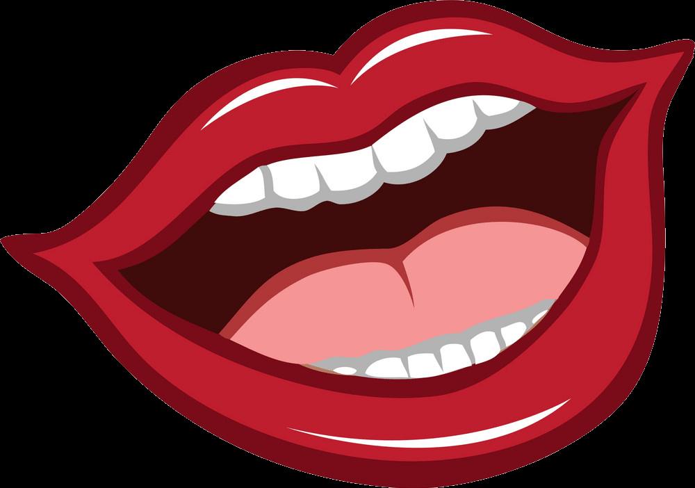 Lips clipart transparent