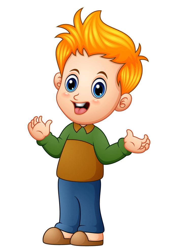 Little Boy clipart 1