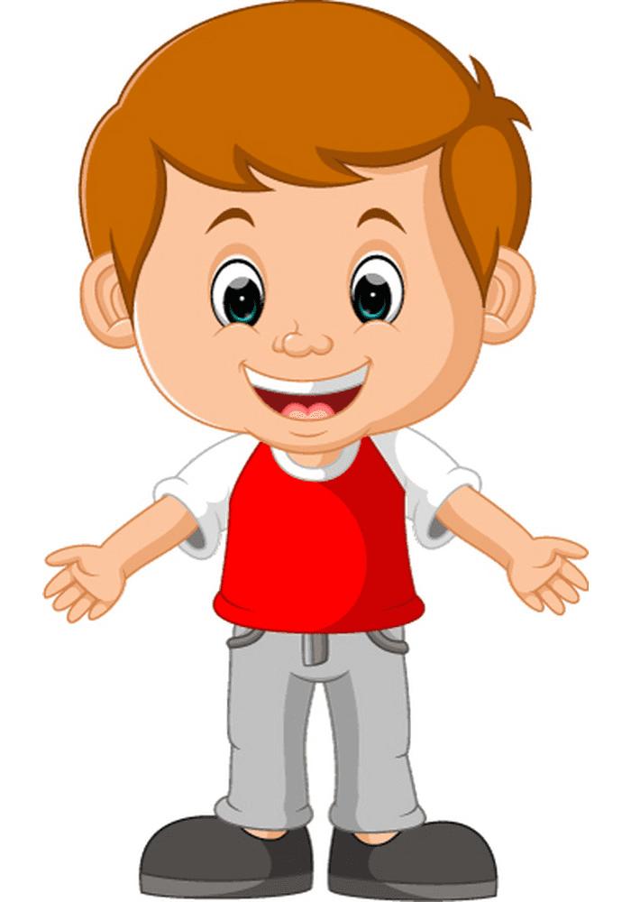 Little Boy clipart 3