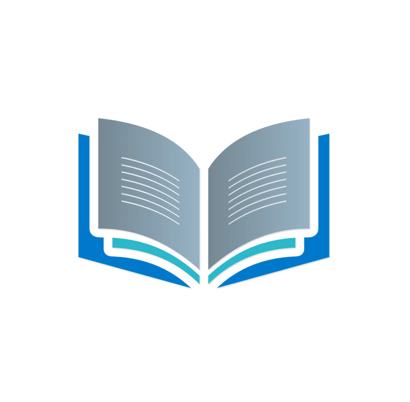 Logo Open Book clipart