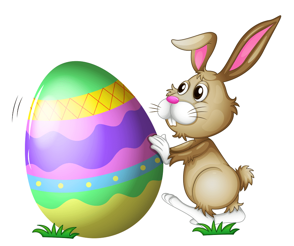 Lovely Easter Bunny clipart png