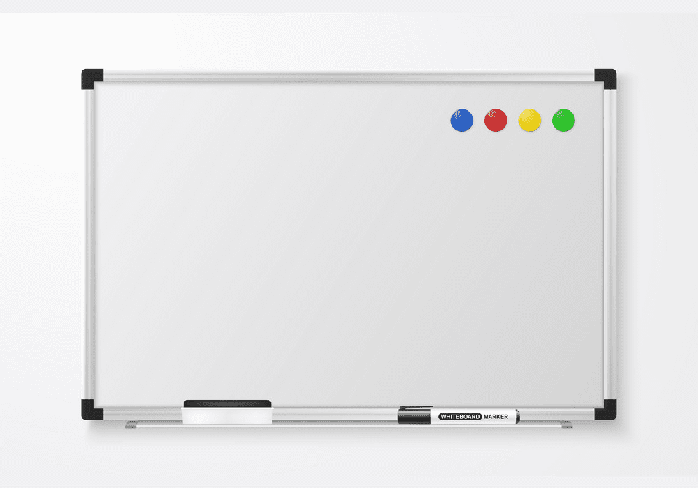 Magnetic Whiteboard clipart