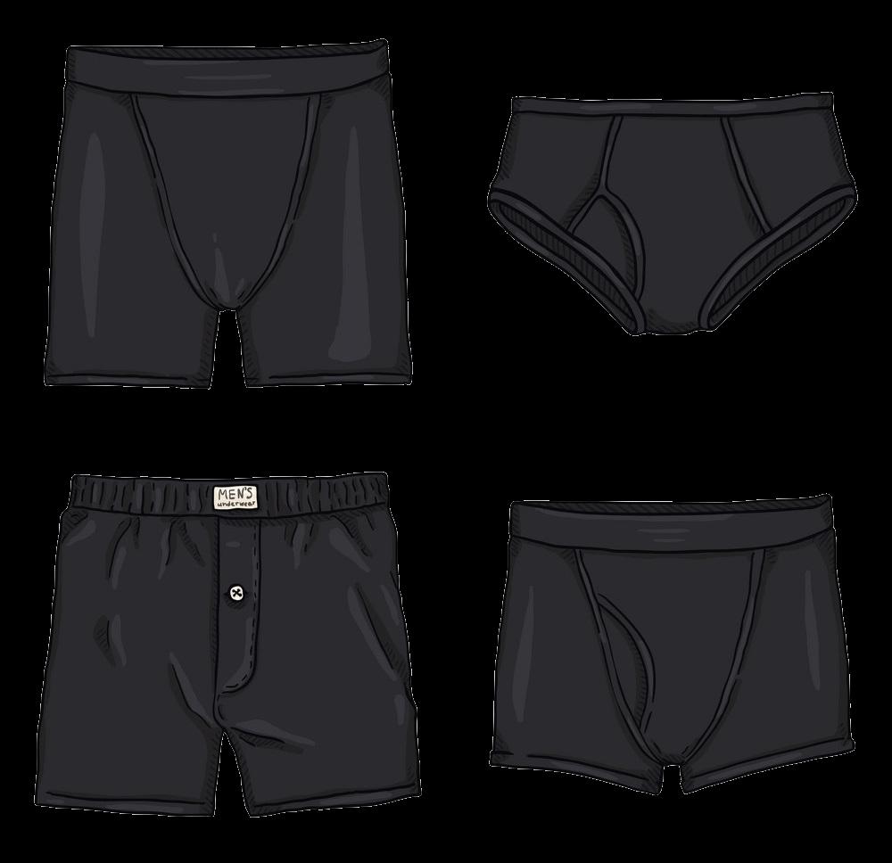 Men Underwear clipart transparent 3