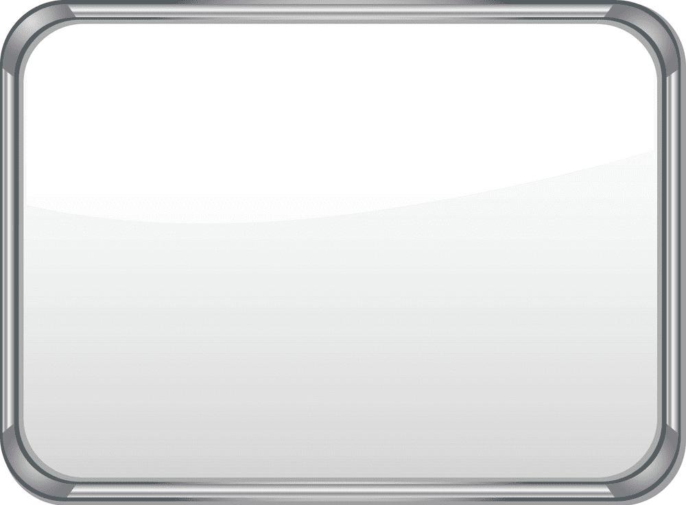 Metal Whiteboard clipart