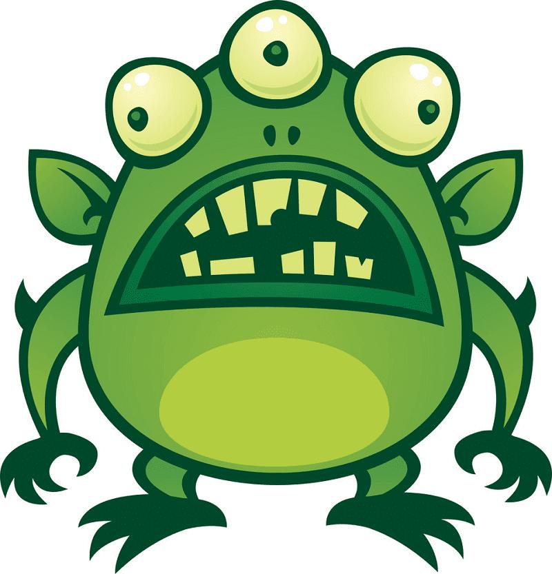 Monster Alien clipart