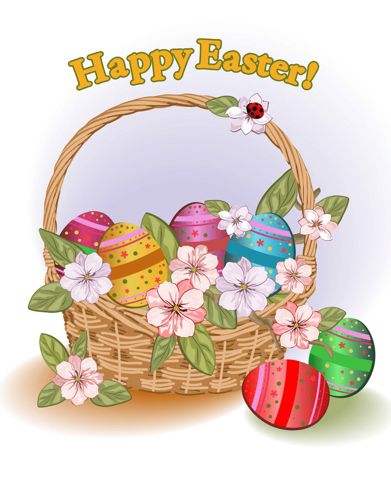 Normal Easter Basket clipart free