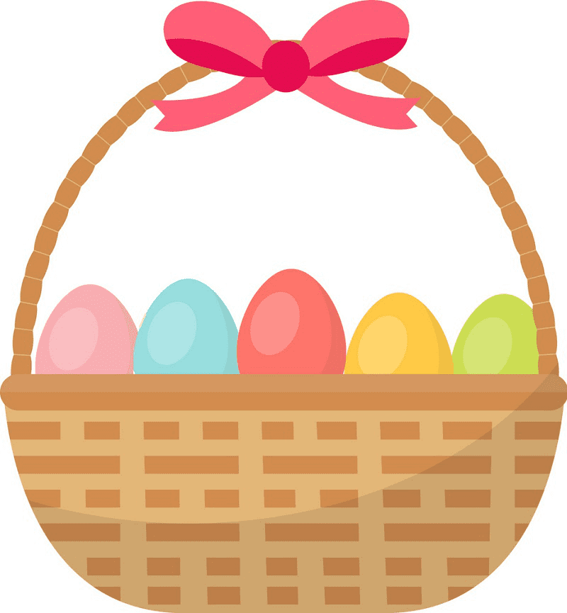 Normal Easter Basket clipart