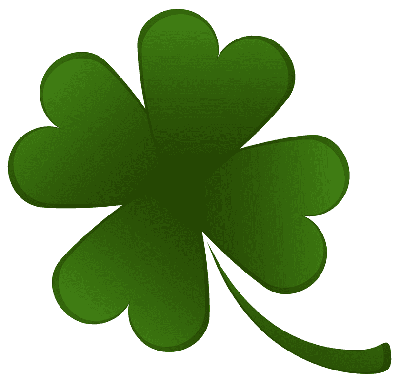 Normal Four Leaf Clover clipart free
