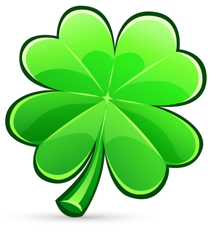 Normal Four Leaf Clover clipart