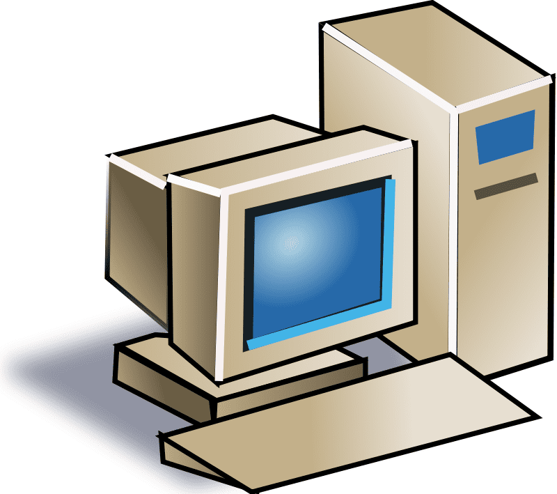 Old Computer clipart png