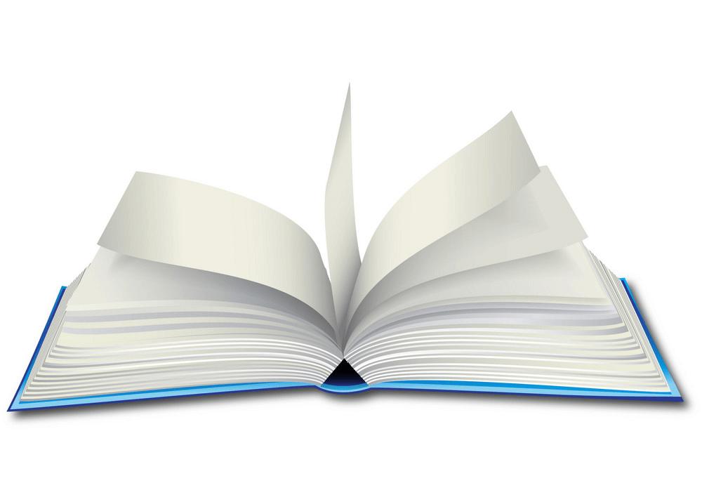 Open Book clipart 1