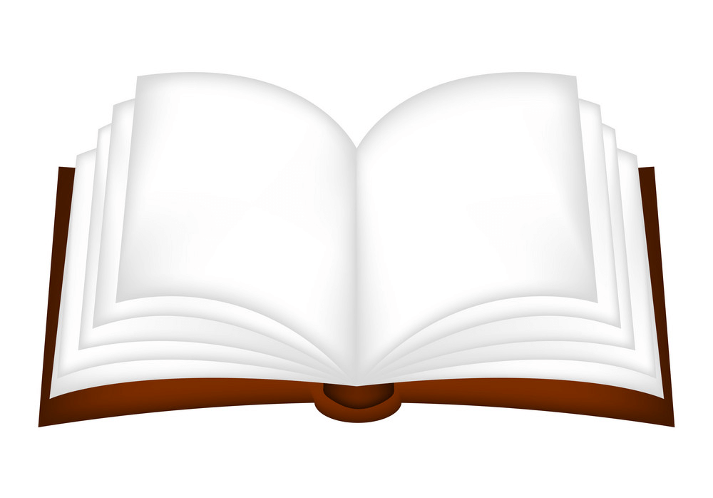 Open Book clipart 3