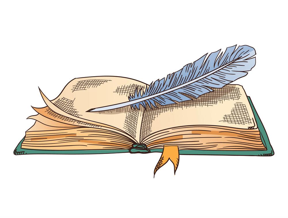 Open Book clipart 4